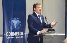 Alejandro Domínguez, presidente de la Conmebol.