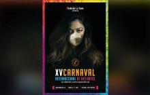 Autorretrato de una mujer, el afiche del Carnaval de las Artes