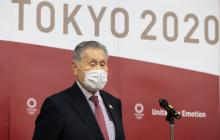 Yoshiro Mori, presidente del comité organizador de los Juegos Olímpicos.