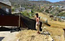 En Puerto familias damnificadas esperan solución a casas derrumbadas