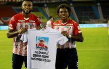 ¿Para quién fue la dedicatoria en el gol de Miguel Borja frente a Petrolera?