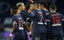 Mbappé e Icardi brillan en victoria del PSG sobre el Marsella