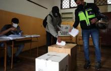 Consejo Electoral garantiza elecciones con plena transparencia en Ecuador