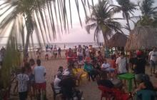 Violación de los protocolos de bioseguridad en reactivación de playa en Tolú