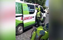 ¿Cómo se regula el tema de ambulancias en el Distrito?
