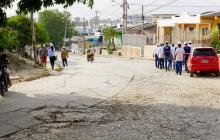 Inician trabajos en la ruta SETP de Los Pioneros, en Sincelejo