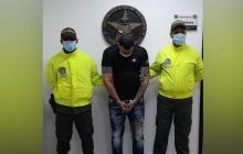 José David Bueno Navarro, alias 'Pellito', capturado.