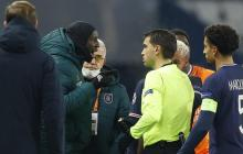 Uefa abre procedimiento por incidentes racistas en PSG-Estambul Basaksehir