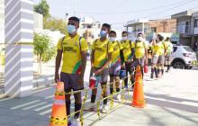 """Después de 11 meses, reabre el """"Templo menor de fútbol"""" en Cartagena"""