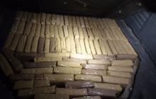 Sorprendidos cuando transportaban 86 kilos de marihuana en Montería