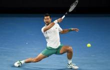 Djokovic logra su victoria 300 en Grand Slam con dolor