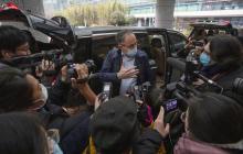 Peter Ben Embarek, director de la misión de la OMS llegó a China para investigar el origen de la covid-19.