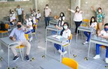 En Barranquilla, 22 colegios privados están en alternancia