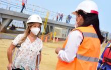 Obras en el muelle de Puerto Colombia avanzan sin descanso