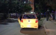 En Santa Marta asesinan pareja dentro de un taxi
