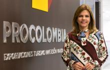 La presidente de ProColombia Flavia Santoro.