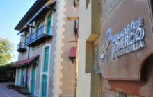 Fachada de la sede de la Cámara de Comercio de Barranquilla en la Aduana.