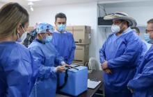 Envían vacunas contra el covid a entidades médicas de Córdoba