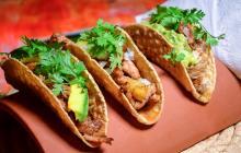 Un trío de tacos que lo harán sentir en México