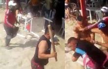 16 comparendos por desórdenes en Playa Blanca, sector de El Rodadero