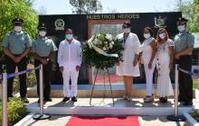 En Corozal y Los Palmitos la Policía sigue construyendo memoria