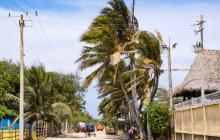 Alerta roja por fuertes vientos en la Costa Caribe
