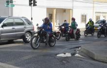Comerciantes piden desmonte del viernes sin parrillero en Sincelejo