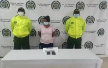 En Montería capturan a presunta sicaria del 'Clan del Golfo'