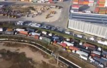 Aumenta el caos vehicular en Cartagena por paro camionero