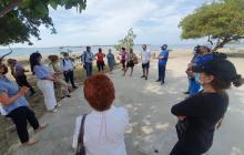 Buscan mitigar contaminación en playas de Cartagena, con apoyo de vecinos