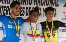 Francisco Jaramillo conquista oro en Torneo Nacional de Ciclismo