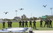 La estrategia drónica para puntos calientes del delito