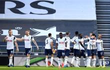 Gareth Bale brilla en el triunfo del Tottenham; Davinson Sánchez fue titular