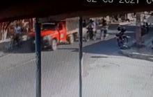 Así asesinaron a expolicía en el barrio Santo Domingo