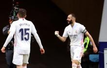 Benzema evita que el Atlético sentencie la Liga de España