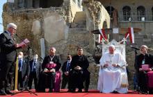 """Papa Francisco pide por unidad y por un """"futuro de paz"""""""