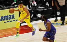Antetokounmpo, como MVP, y Curry, líder, dan triunfo al Team LeBron