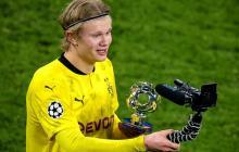 Dos goles de Haaland sellan la clasificación del Borussia Dortmund