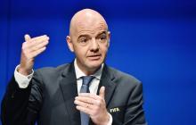 """""""La nueva FIFA no deja sitio para el delito"""": Infantino"""