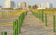 Desde este viernes habilitan otra playa biosegura en Marbella