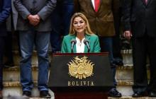 Ordenan capturar a la expresidenta de Bolivia Jeanine Áñez