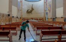 Las iglesias se preparan para la celebración de la Semana Santa