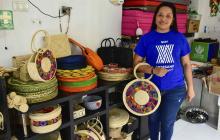 Artesanías de Usiacurí abren su plaza en el mercado digital