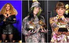 Beyoncé, Billie y Taylor, las mujeres que hacen historia en los Grammy