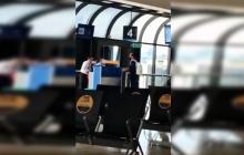A Teófilo Gutiérrez lo dejó el avión en Medellín