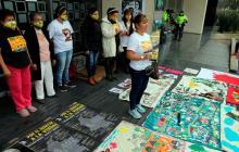 Madres de las víctimas de 'falsos positivos' entregan informe a la JEP