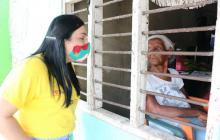 Cartagena comenzó vacunación domiciliaria para mayores de 80 años
