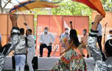 """""""La Banda de Baranoa es una evidencia de industria creativa"""": Duque"""