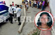 Air-e investiga caída de poste que mató a una mujer en barrio La Ceiba
