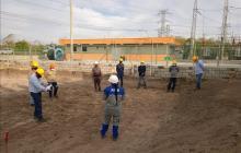 Avanza construcción de subestación de energía en Soledad